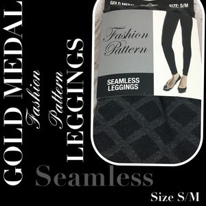 ❤️New Gold Medal Seamless Fashion Pattern Leggings